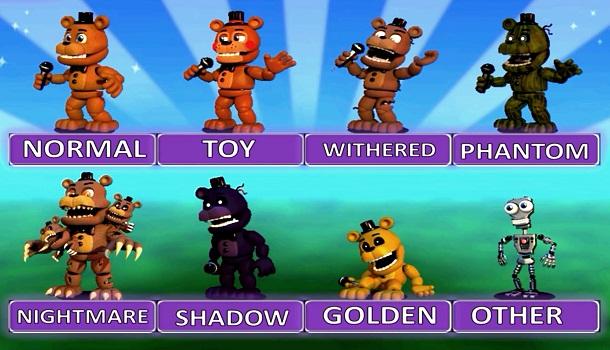 Fnaf World Video Fnaf Games