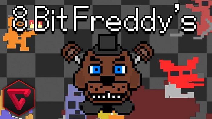 Five Nights at Freddy's 8-bit