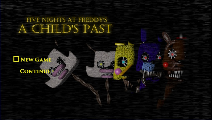 Five Nights At Freddy's : A Child's Past (CLASSICS)