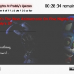 Five Nights At Freddy's Quizzes REBORN