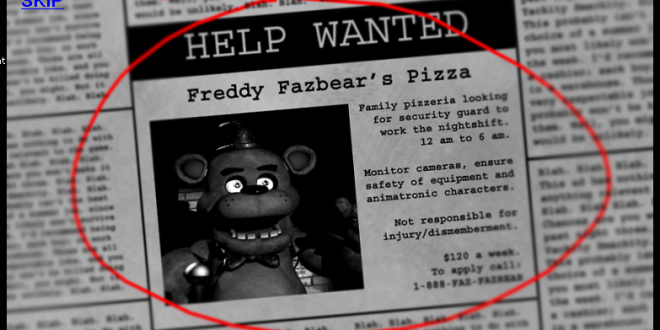 Five Nights At Freddy's Fan Game
