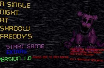 A Single Night at Shadow Freddy's