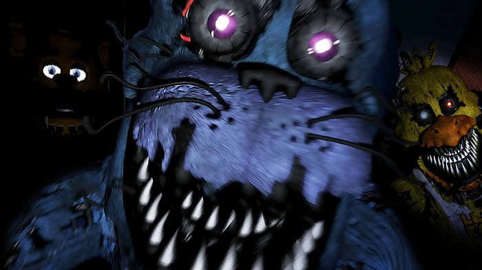 Five Nights at Freddy's fan game (by UndertheSCORE)