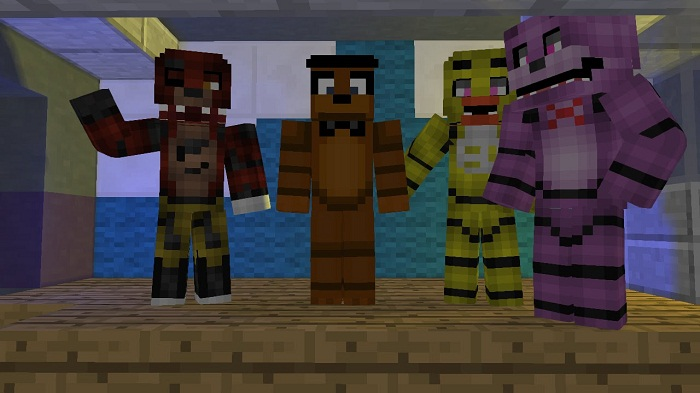 five nights at freddy's-Minecraft