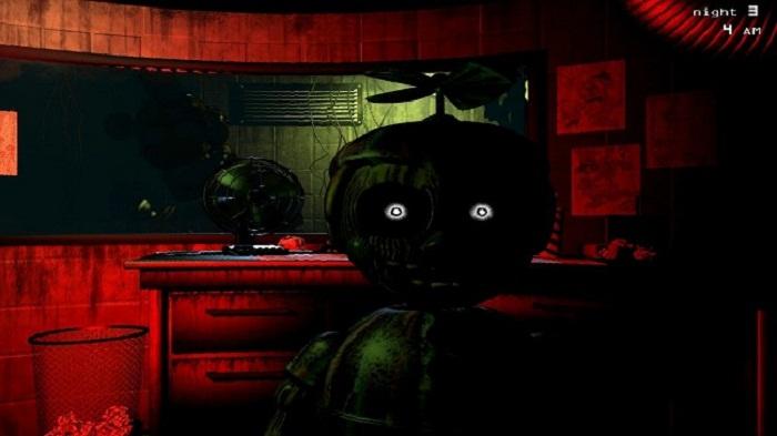Five Nights at Phantom Freddy's: Code Input