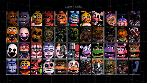 Fnaf Ultimate Custom Night Free Download Fnaf Games