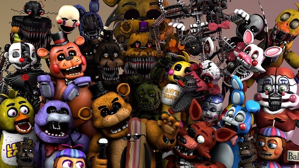 FNAF ULTIMATE BATTLE
