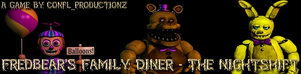 FredBear's Family Diner [NIGHT SHIFT]